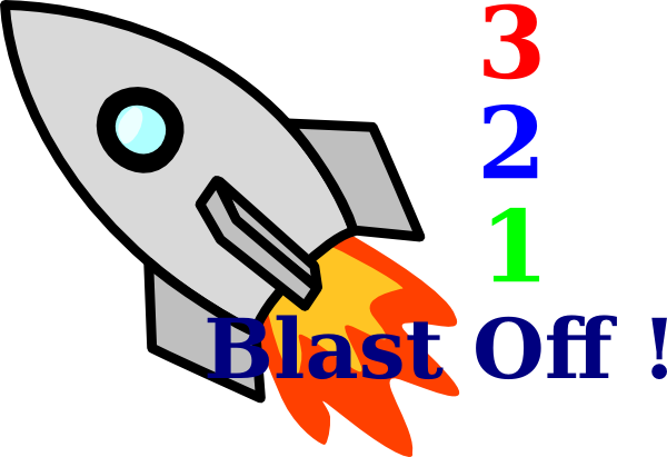 vector transparent download 1-2 clipart thing.  blast off clip
