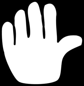 image transparent 1 clipart 1 hand. Clip art at clker