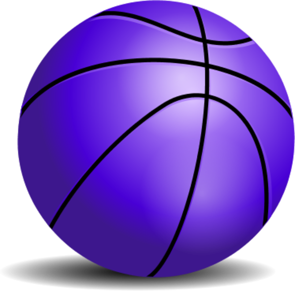 png black and white download Vector color basketball. Purple clipart panda free