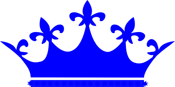 black and white stock 1 clipart crown. Queen blue clip art
