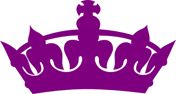 clip art royalty free Purple Crown Clipart