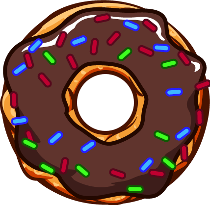 freeuse library 1 clipart single number. Donuts one frames illustrations
