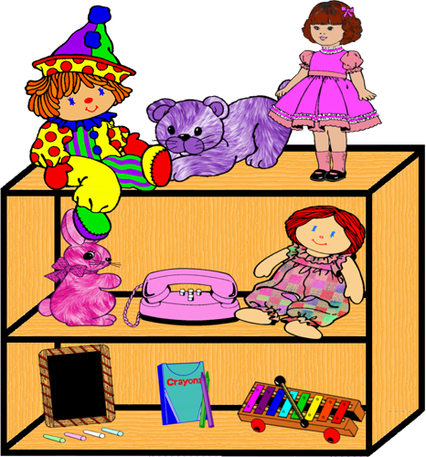 picture free 1 clipart toy. Shelf png by clipartcotttage