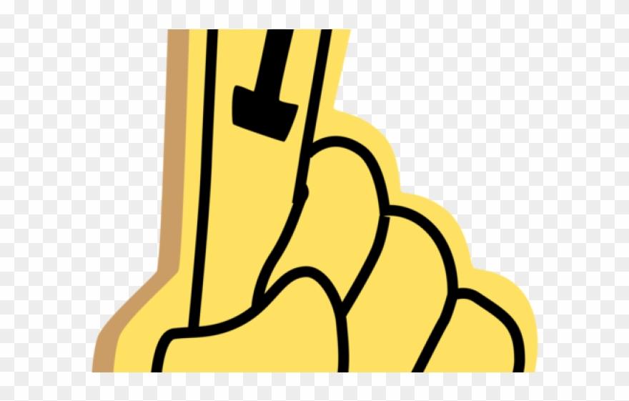 vector library download Finger transparent foam. Clipart background clip art