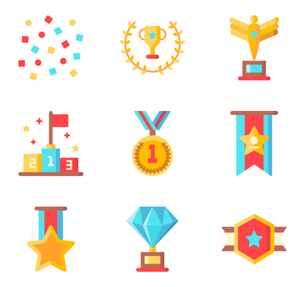 jpg royalty free library Medal Icons