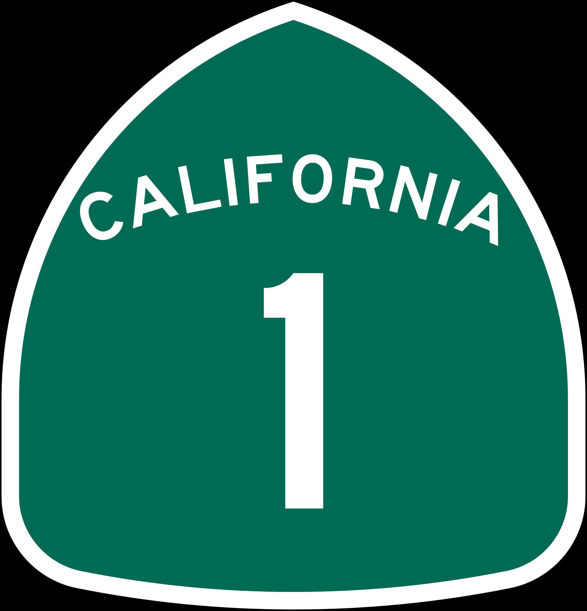 graphic stock highway drawing coast california #97701535