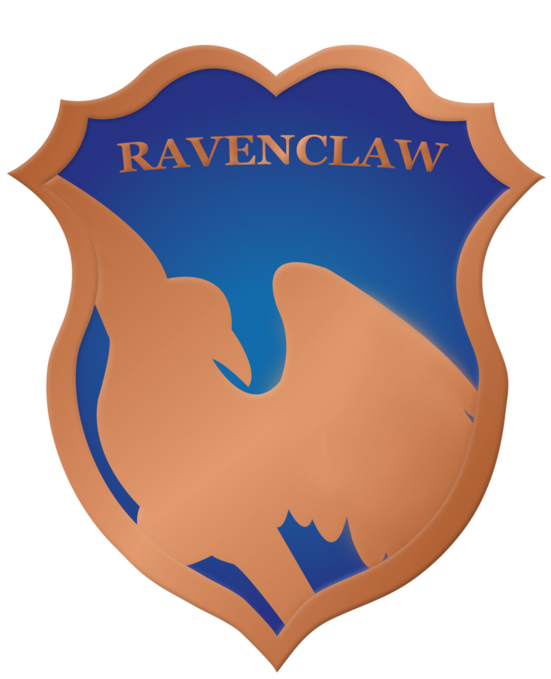 svg freeuse library Ravenclaw badge by rainbowrenly. Vector crest creative