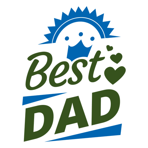 svg free Best dad badge