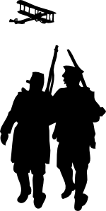 svg library stock World War I Silhouette Clip Art at Clker