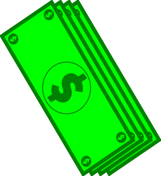 jpg Dollar Bills Clip Art at Clker