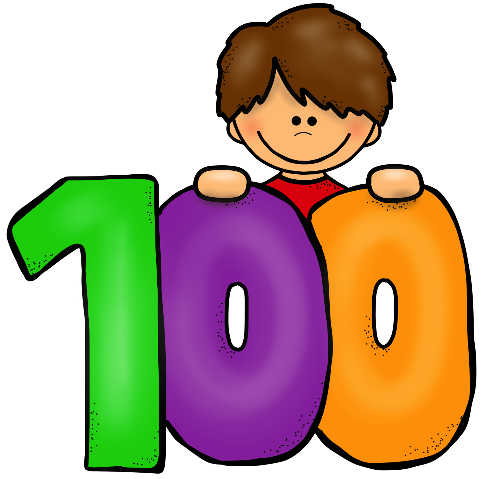 clip art library download 100th of clipart.  th day cilpart