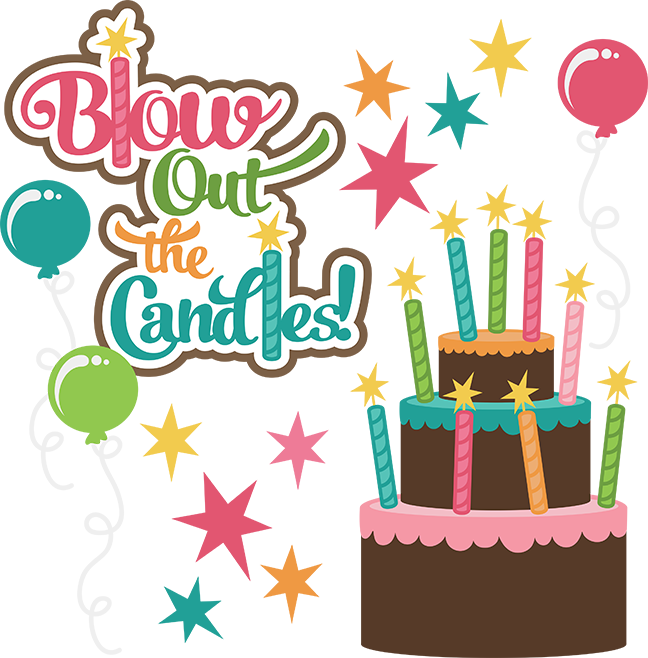 image stock 100 clipart birthday. Blow out the candles
