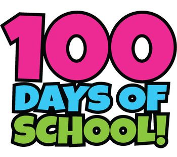 clipart free download Free days school happy. 100th of clipart.