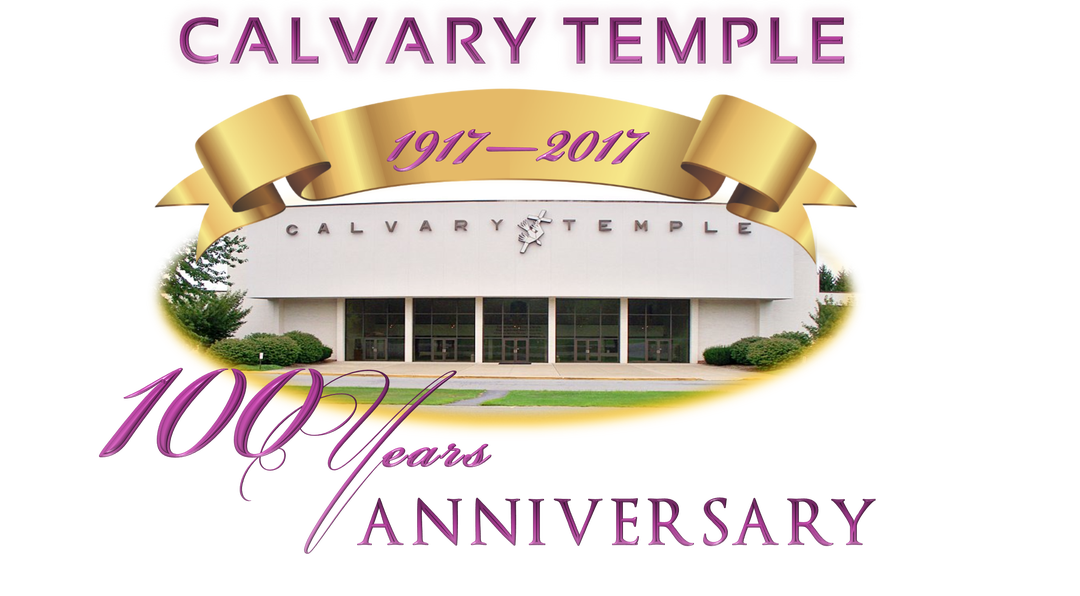 vector black and white 100th of clipart anniversary.  year calvary temple