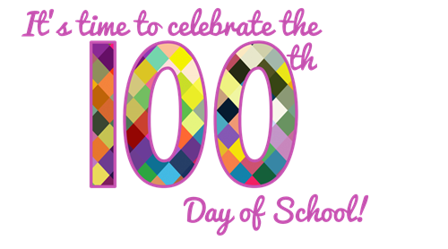 svg freeuse download  th day jefferson. 100th of clipart school clipart