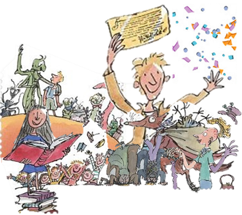 banner royalty free library Roald dahl s th. 100th of clipart transparent