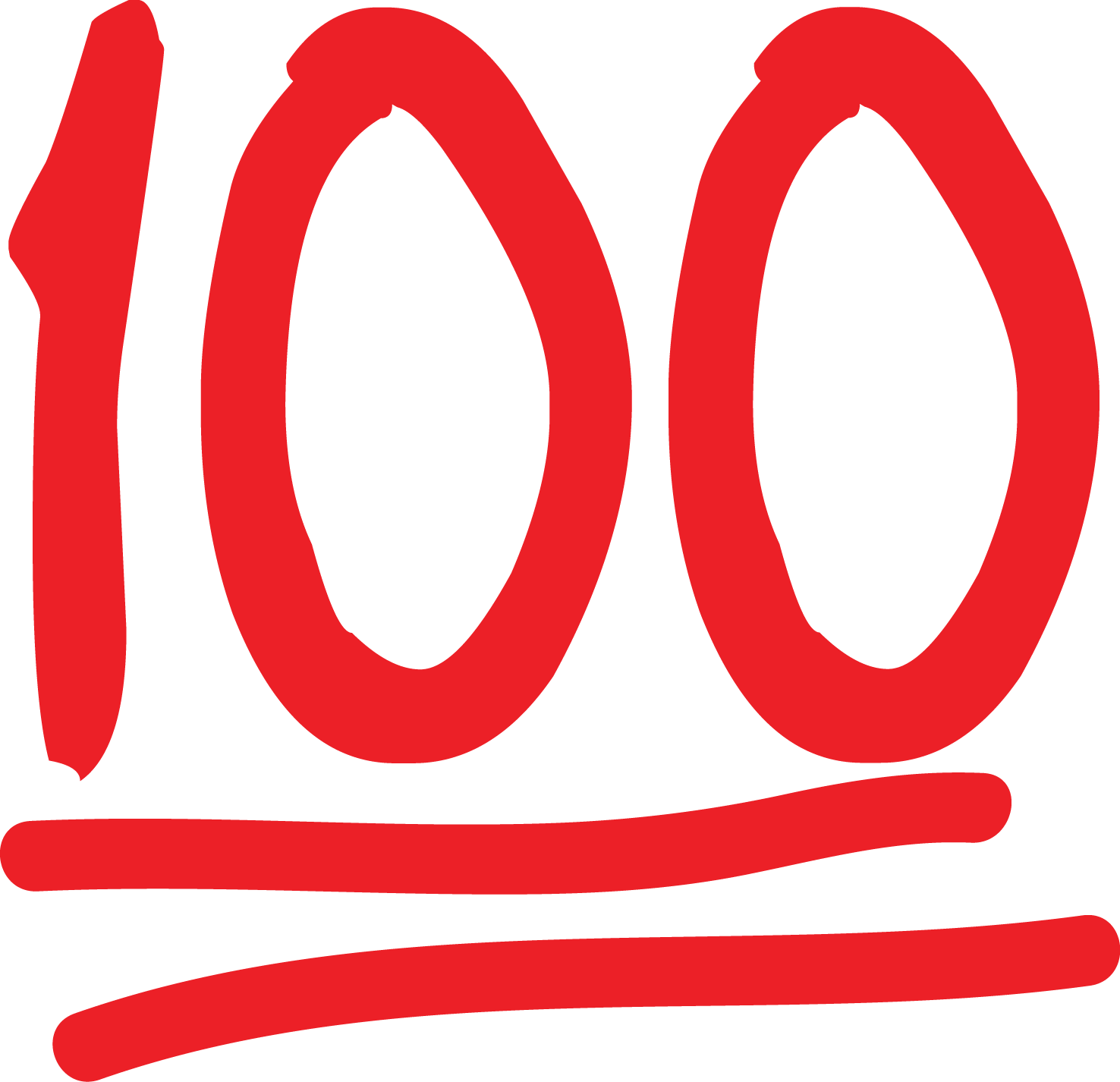 vector free library 100th of clipart transparent.  perfect score