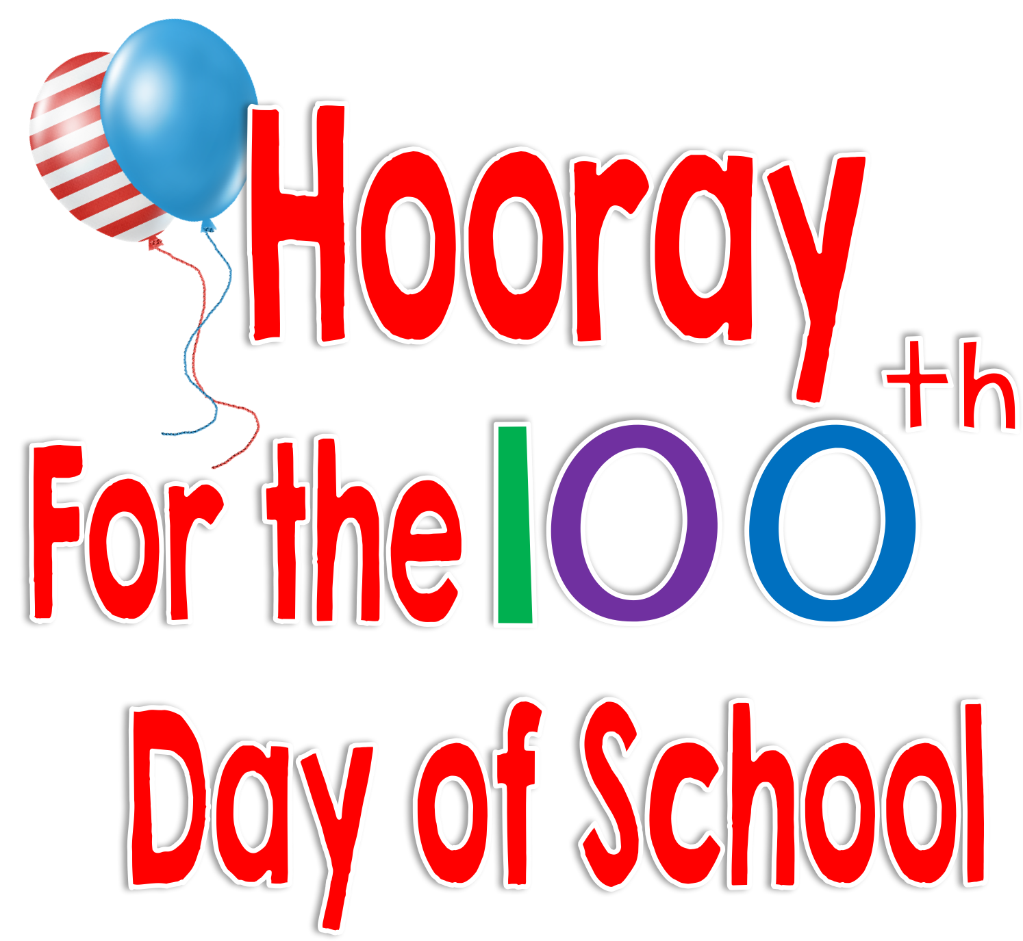 image library stock 100th of clipart transparent. Time kindergarten th day