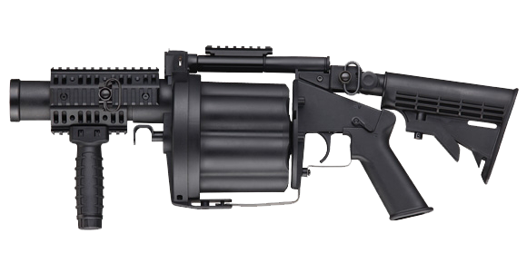 svg freeuse stock Vector carbine grenade launcher. Ics glm multi shot