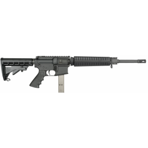 black and white download Vector carbine enhanced. Rifles guns mm iammo