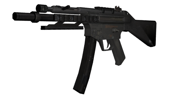 svg freeuse download Vector 10mm mp5. Mp kac call of