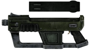 clip  mm submachine gun. Vector 10mm smg