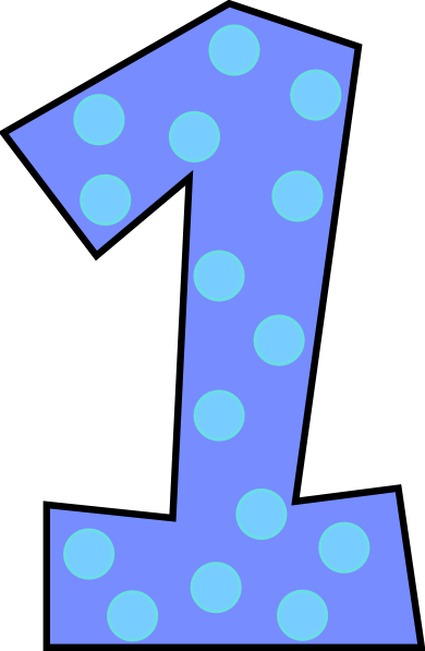 banner number clipart