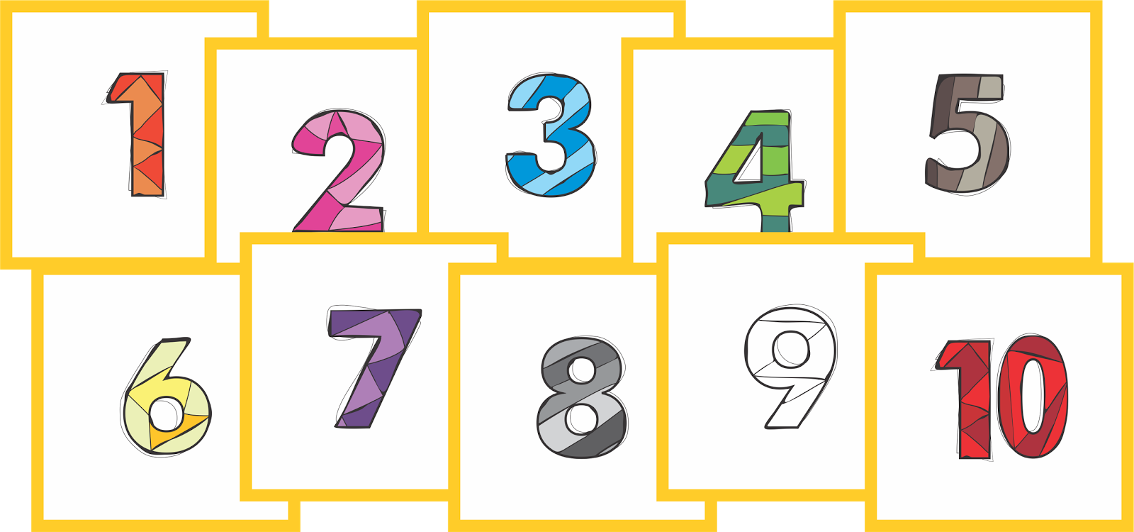 clip art freeuse stock Learn your Numbers
