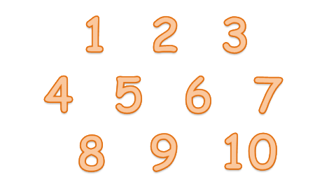 image royalty free download 1-10 clipart transparent background number #85870076
