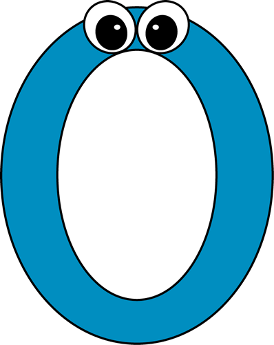 svg free Number With Eyes Clipart