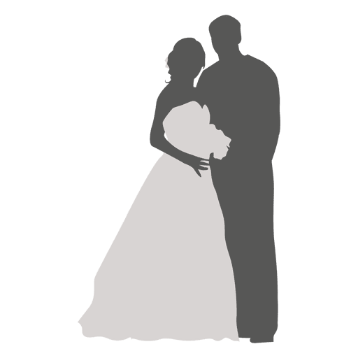 graphic freeuse stock And bride silhouette at. 2 clipart groom