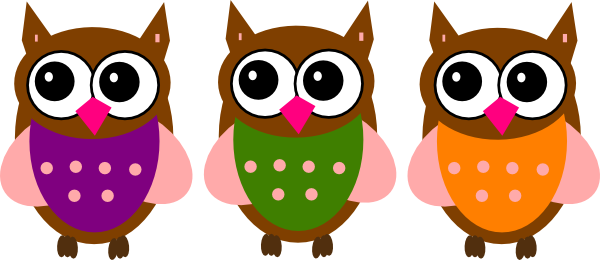 graphic freeuse stock Pink clip art at. Owl clipart mail
