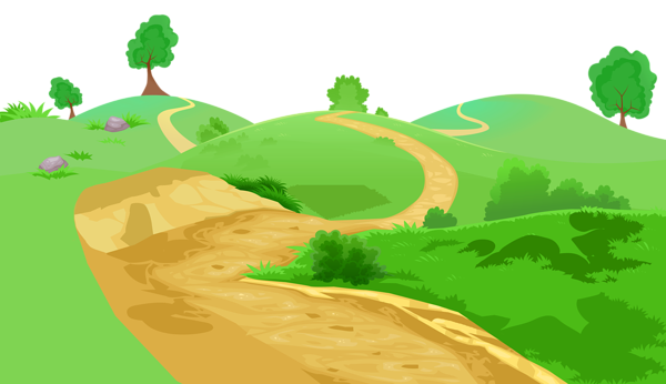 vector library library Grass and transparent png. 2 clipart pathway