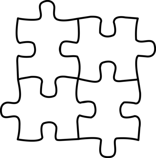 jpg transparent 2 clipart puzzle.  collection of black