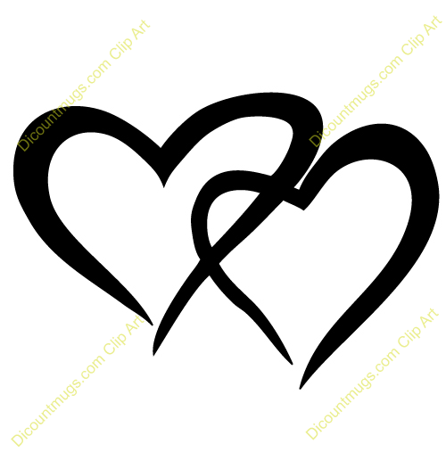 jpg free download 2 hearts clipart.  clip art panda