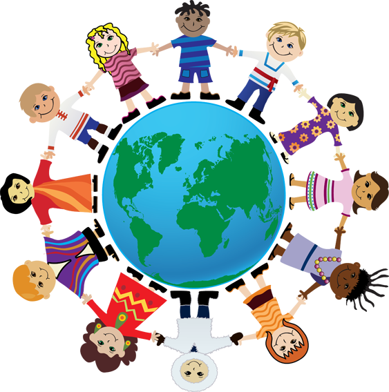 jpg transparent Costume united nations pencil. Circle of friends clipart