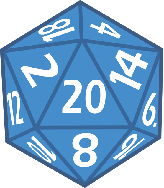 free library d20 clipart 20 sided dice #77904557