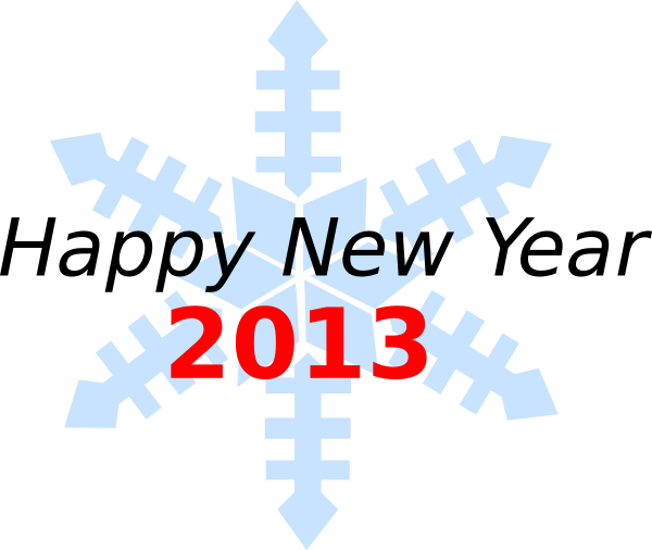 image free stock Happy new year clip. Where is in 2013 clipart.