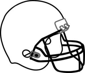 image transparent download Football helmet clip art. 2013 clipart black and white