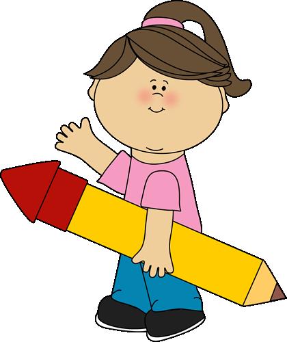 jpg download Pencil clip art kids. 2013 clipart kid