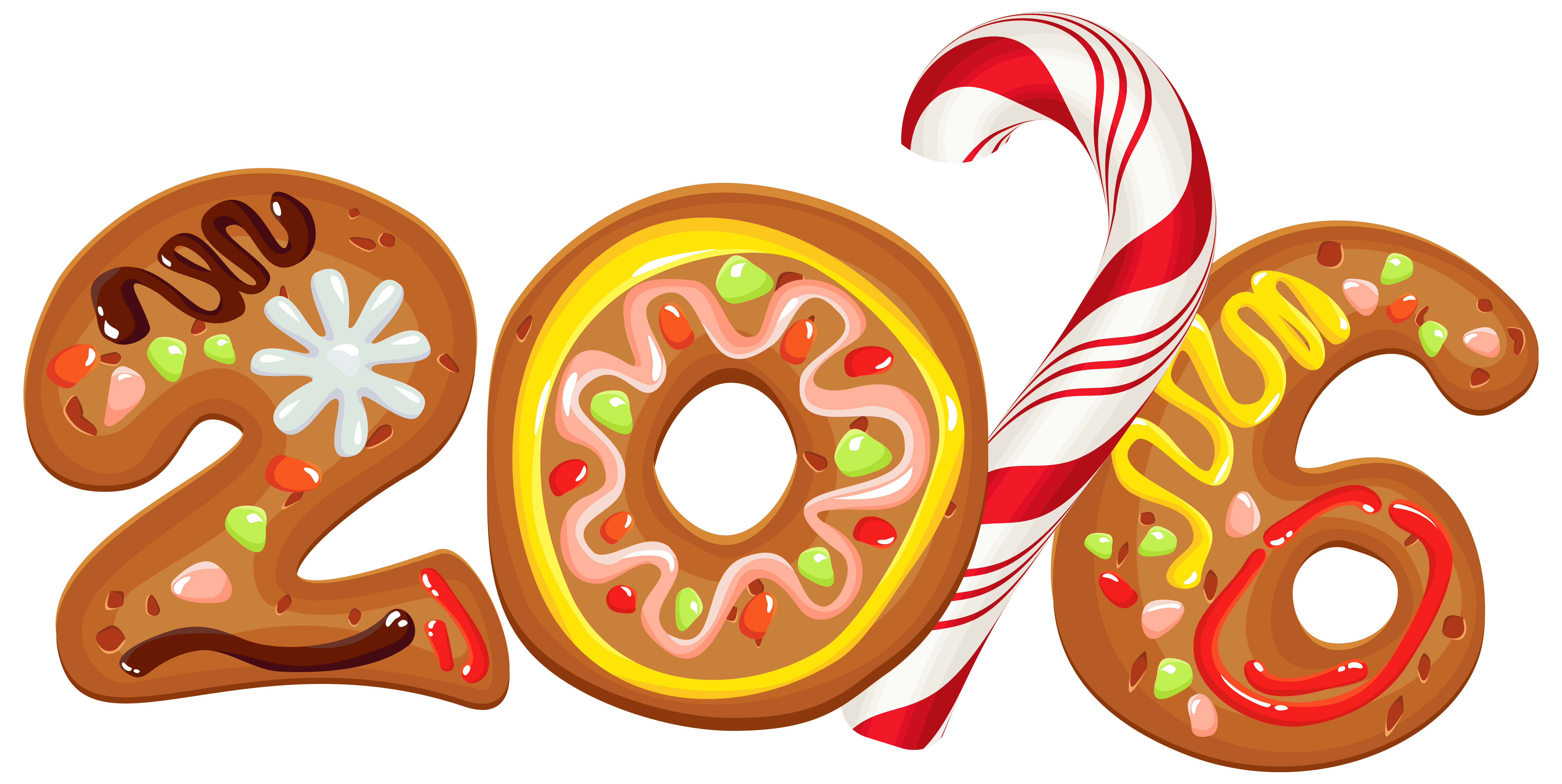 freeuse download 2016 clipart.  cookie style png.