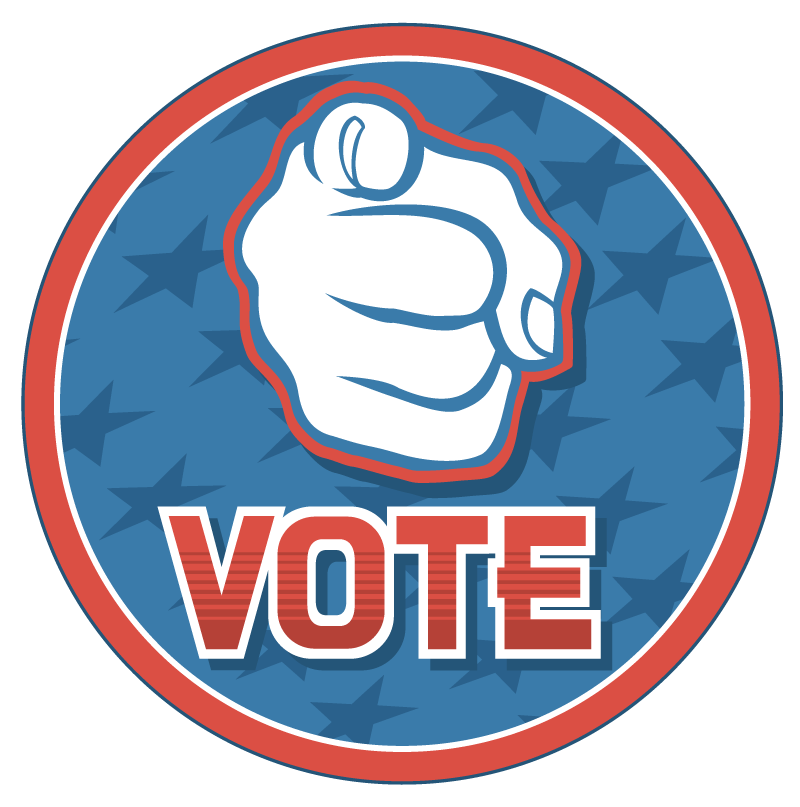 transparent stock free vote clipart #63574366