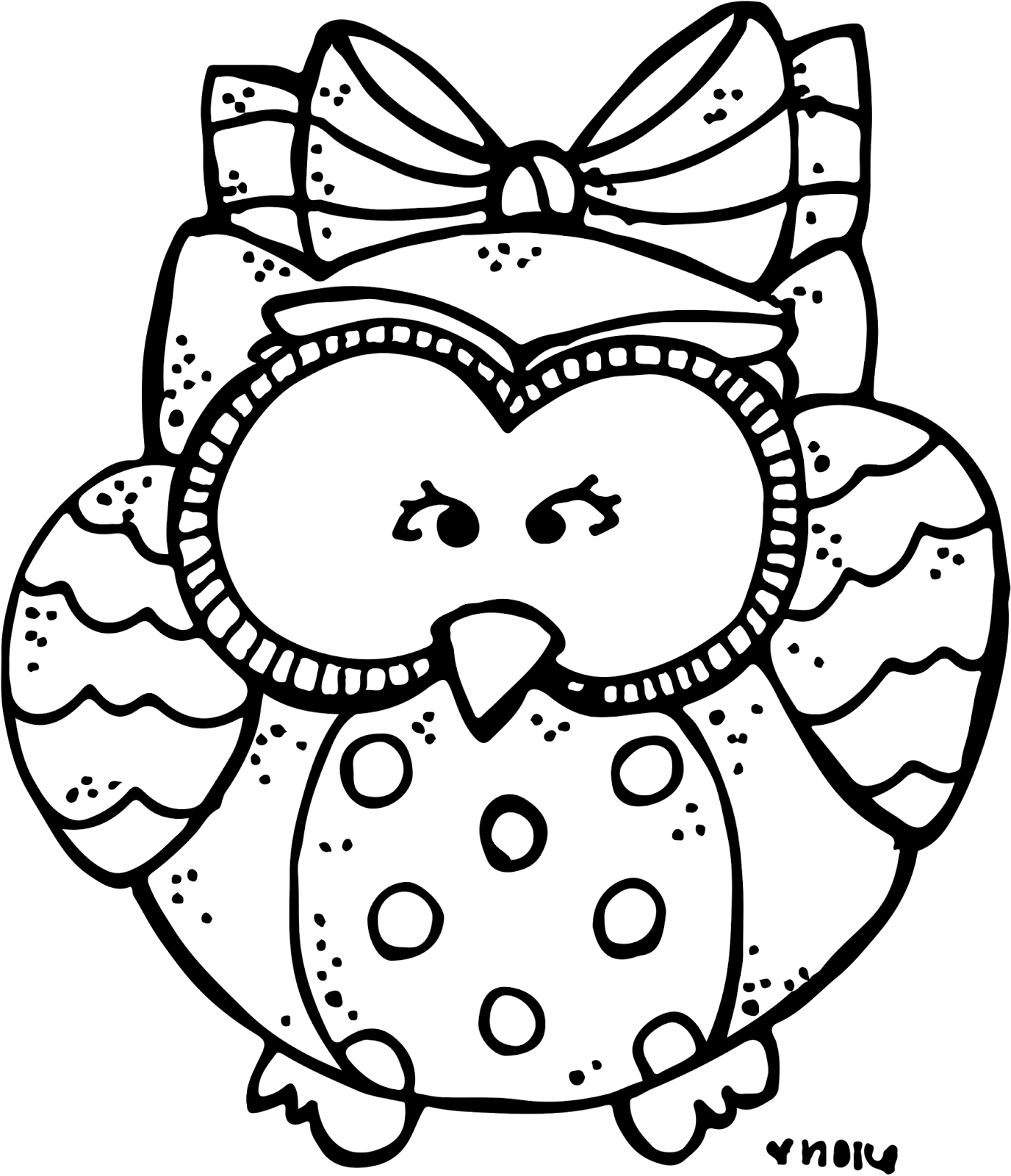 freeuse library Melonheadz january i have. Owl black and white clipart