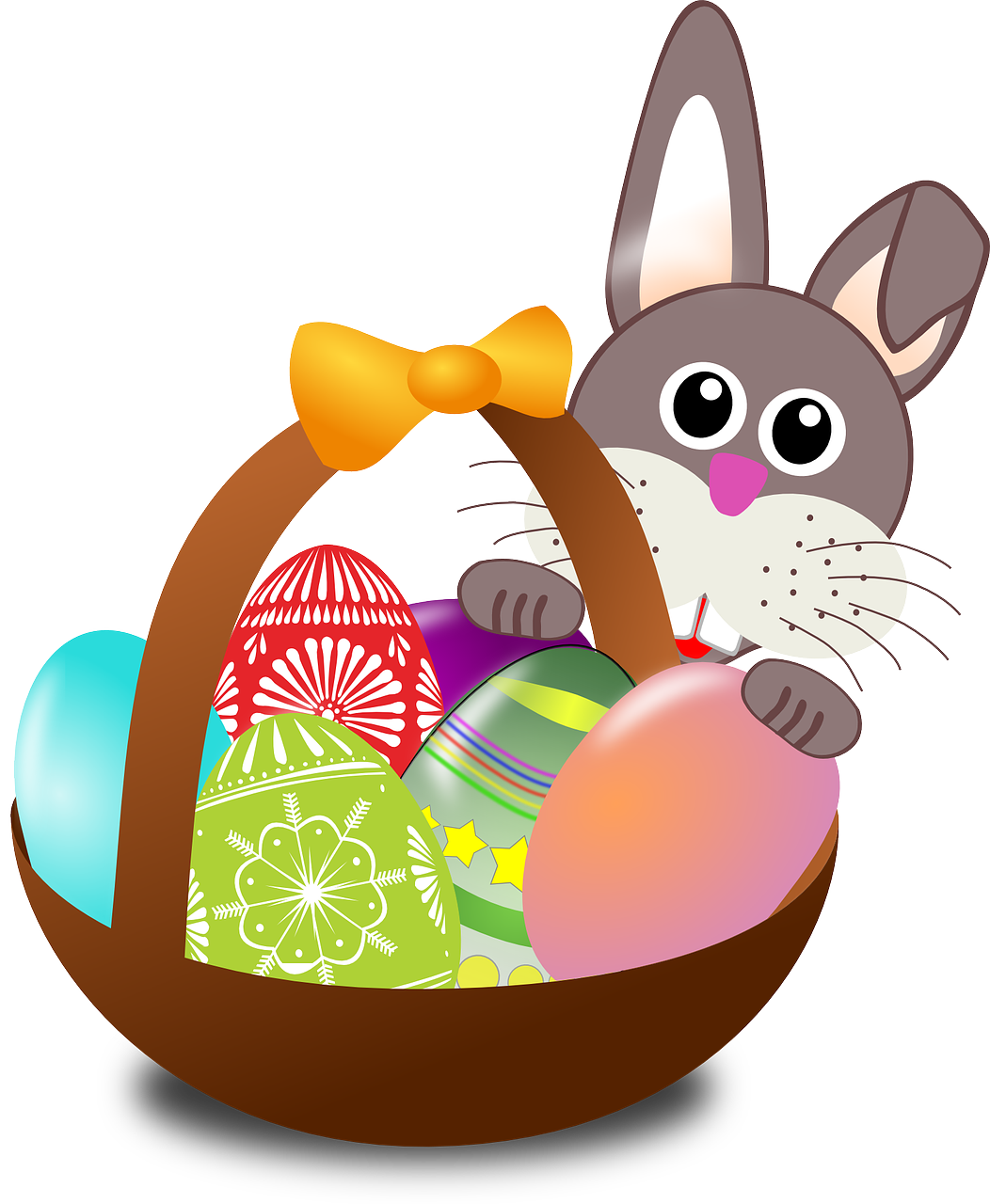 graphic free library Easter Bunny art