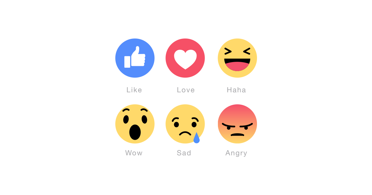 black and white Vector emojis. New facebook emoticons pack