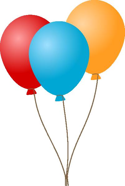 clip transparent stock Clipart Birthday Balloons Ballons Clipart