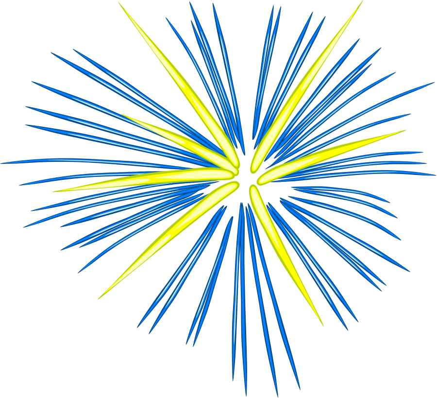 svg stock Fireworks clipart free images