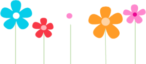 royalty free library Flowers clip art image. 2017 clipart spring