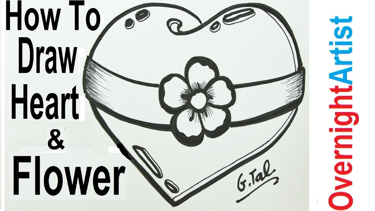 picture free download Hart drawing design. Valentines new draw heart
