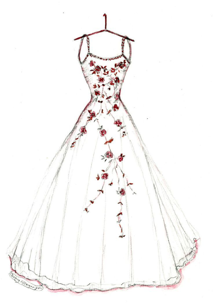 vector freeuse download Pretty wedding dresses ellie. Drawing outfits designer